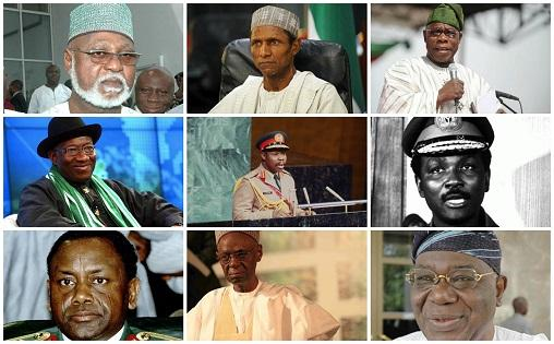 List of all Nigerian presidents