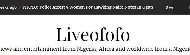 Naija gossip apps live ofofo amebo news site