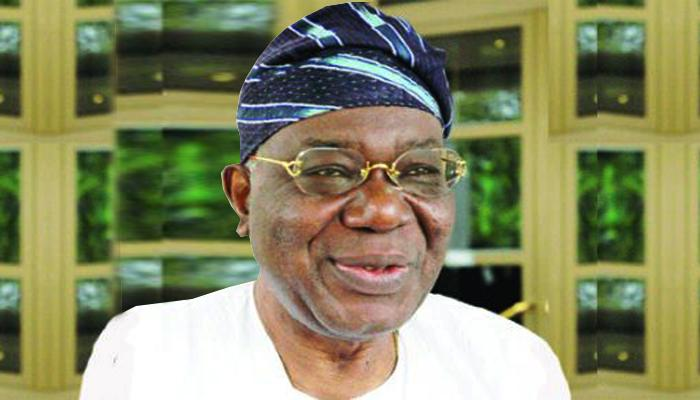 Chief Ernest Shonekan president of Nigeria