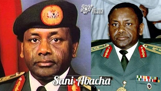 Nigerian president General sanni abacha