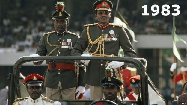 Nigerian presidents Major General Muhammadu Buhari