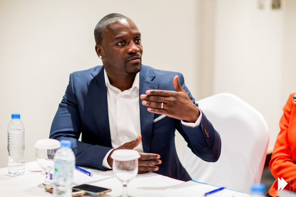 Richest musician in Africa is Akon