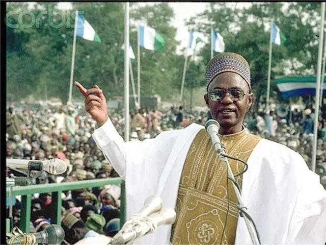 Shehu shagari Nigerian presidents and head of state