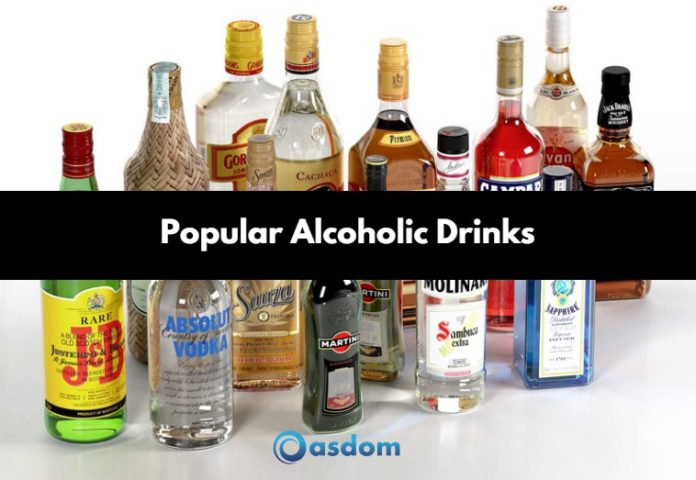 Full list of alcoholic drinks in Nigeria - wines and bar drinks list in Nigeria