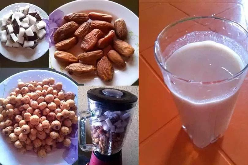how to make kunu aya drink