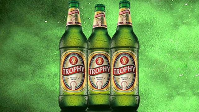 trophy beer alcoholic drinks