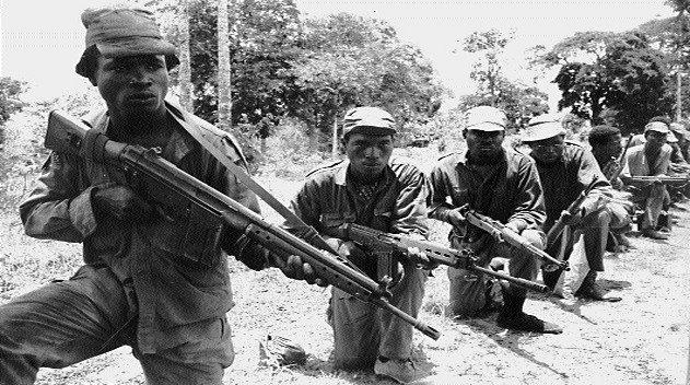 Civil war in Nigeria pictures