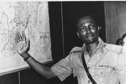Nigerian civil war picture - gowon head of state