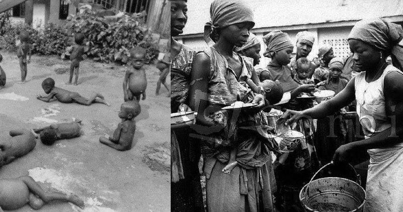 Nigerian civil war with Biafra