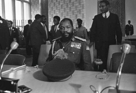 General Ojukwu peace talks addis ababa ethopia - Nigerian civil war