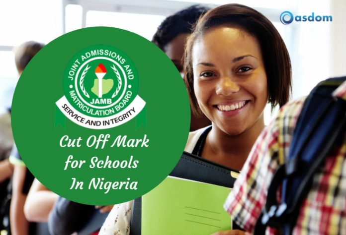 For admission into the university, polytechnic or colleges of education? Here's the list of JAMB cut off mark 2019/2020. UTME cut off marks are to be met.