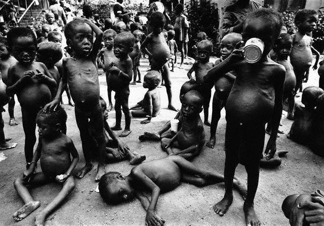 nigerian civil war pictures