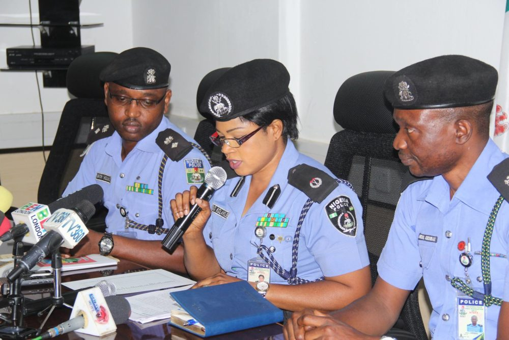 Nigeria police station and zones
