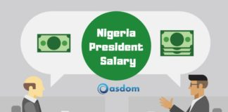 See Nigeria president salary and allowances