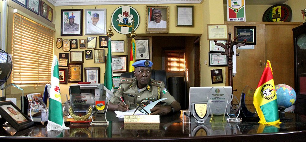 founder of Nigeria peace corps - National Commandant, Amb. (Dr) Dickson A. O. Akoh, FCITr, FCPA