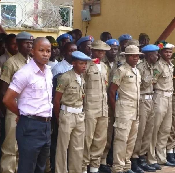 Salary of Nigerian peace corps and their uniform