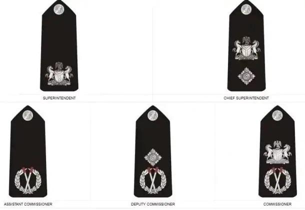 Nigeria police force ranks and symbol