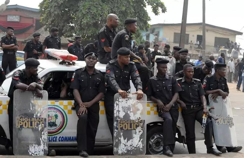 Nigeria police salary - old uniform history black