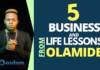 From story to Glory, Olamide Adedeji popularly known as Olamide badoo didn't just get to the top by chance, he worked for it. Here are 5 business and life lessons from this talented Nigerian artiste.
