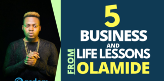 From story to Glory, Olamide Badoo story and lessons
