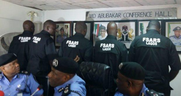 Renaming SARS to F-SARS - Federal Special Anti Robbery Squad