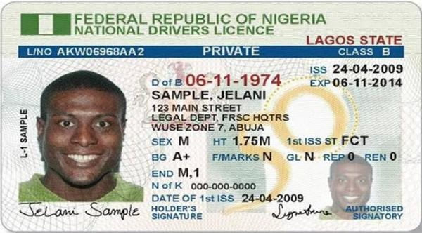 nigeria drivers license renewal cost