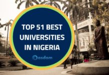 Oasdom the top 51 best university in Nigeria latest NUC rankings