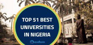 Best university in Nigeria latest NUC rankings