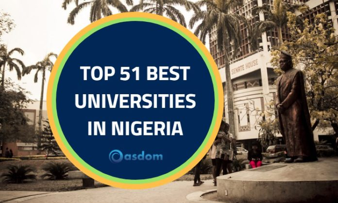 Which is the best university in nigeria today by NUC ranking