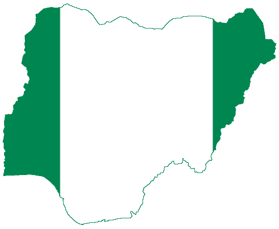 The Map of Nigeria With States And The FCT - Oasdom
