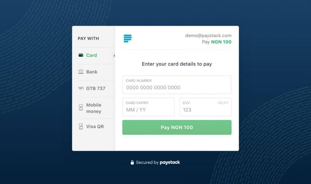 pay stack payment gate way