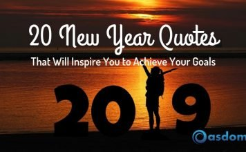 20 happy new year quotes to achieve your goals