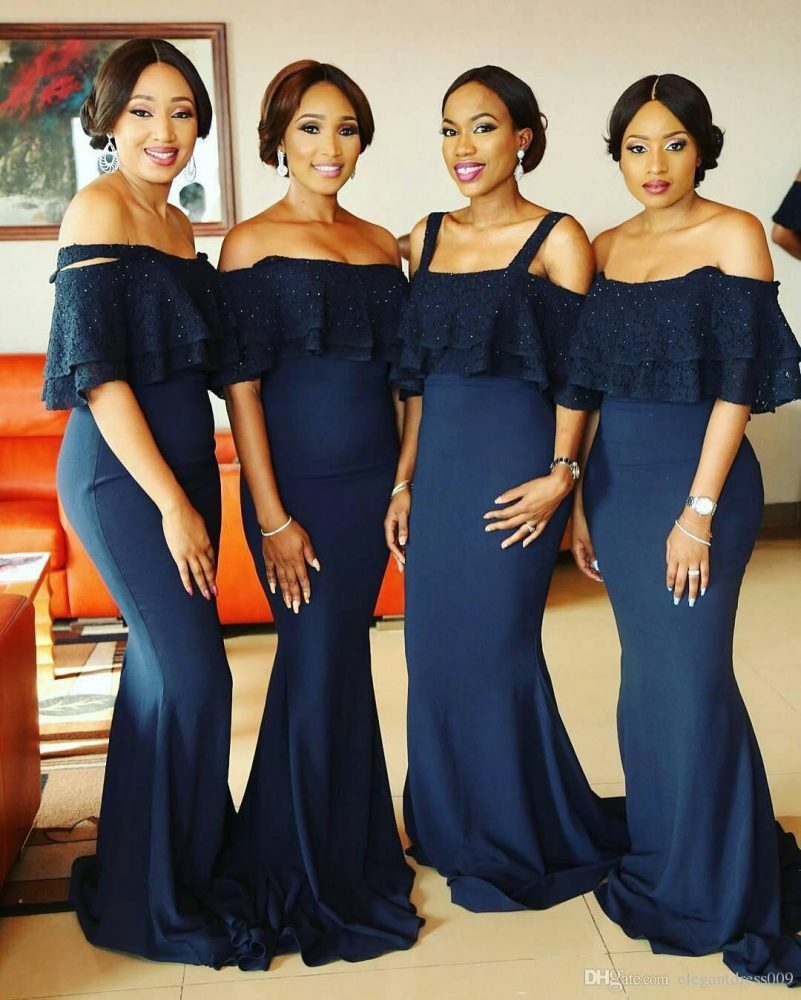 Nigerian clothing and bridesmaid dresses styles