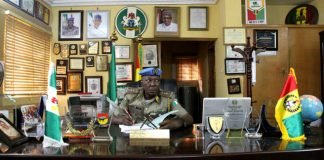 Peace corps of Nigeria ranks and uniform