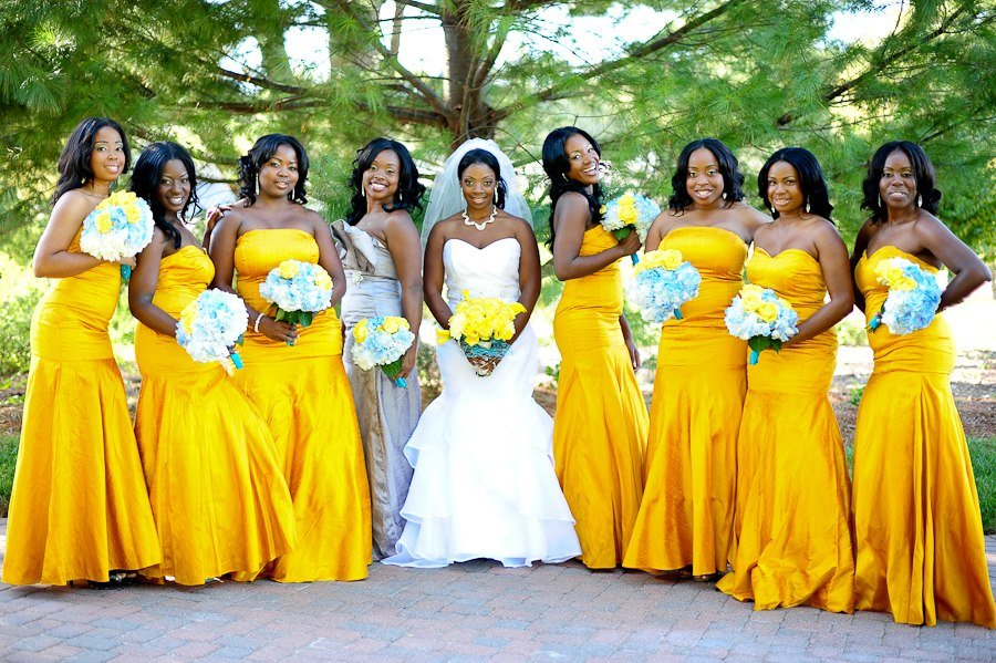 matron of honor bridal dress
