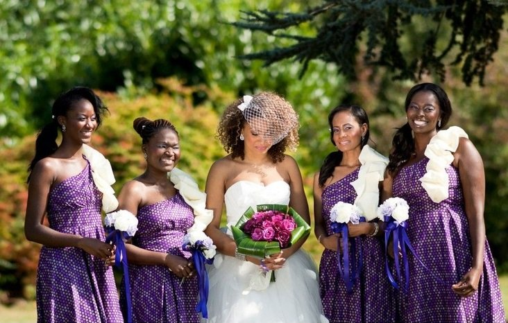 ankara bridesmaid dresses in Nigeria