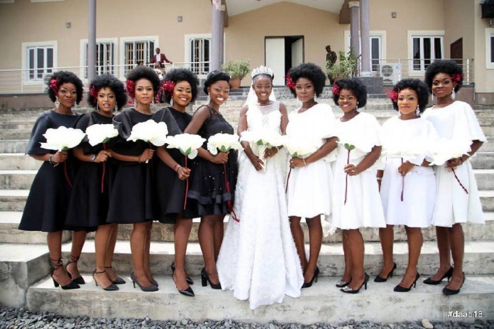 b076de09dec Latest!  Bridesmaid Dresses In Nigeria 2019 to Rock Weddings - Oasdom