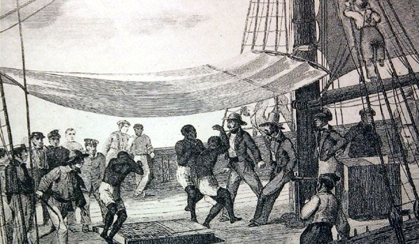 european merchants and Nigerian slaves