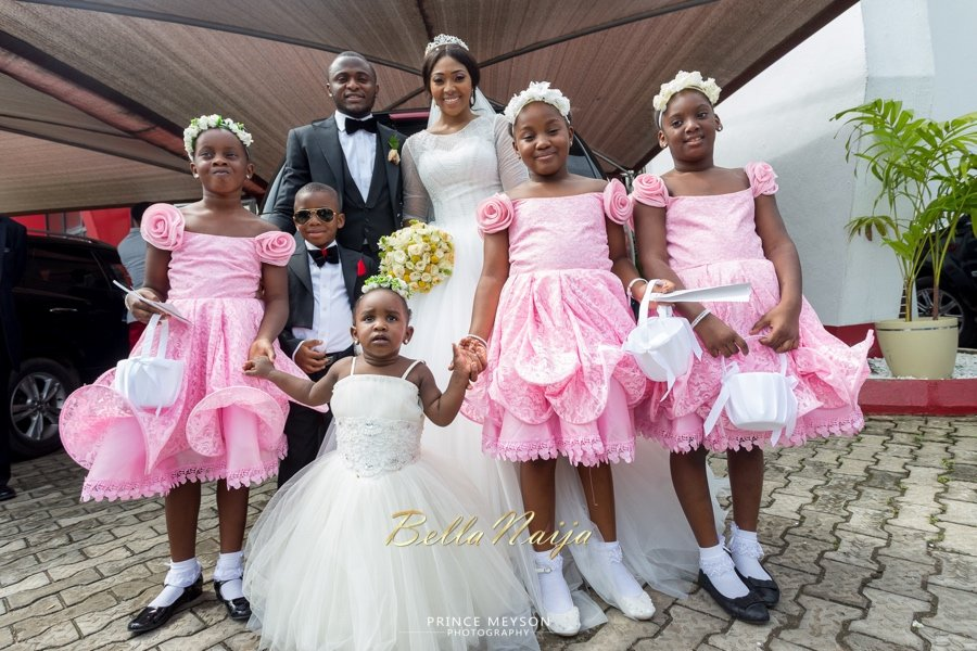 flower girl nigerian wedding ceremony
