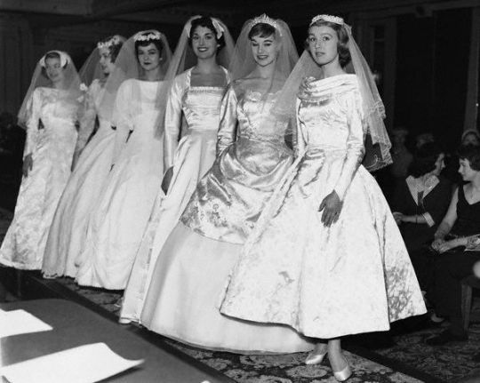 history of bridesmaid dresses