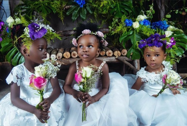 lagos flower girl dress style in nigeria