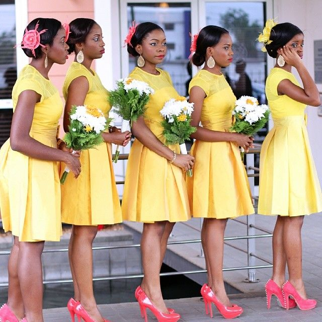 Latest Bridesmaid Dresses In Nigeria 2019 To Rock Weddings Oasdom