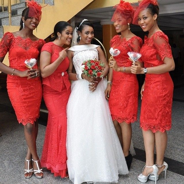 Latest!  Bridesmaid Dresses In Nigeria 2019 to Rock Weddings - Oasdom 05e6fb78b540