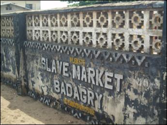 slave market in badagry