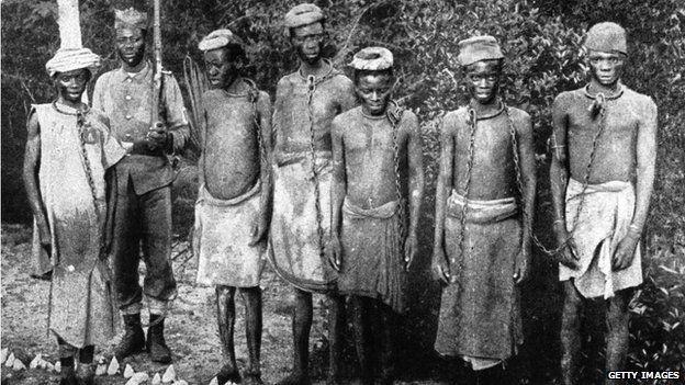 slave trade photos