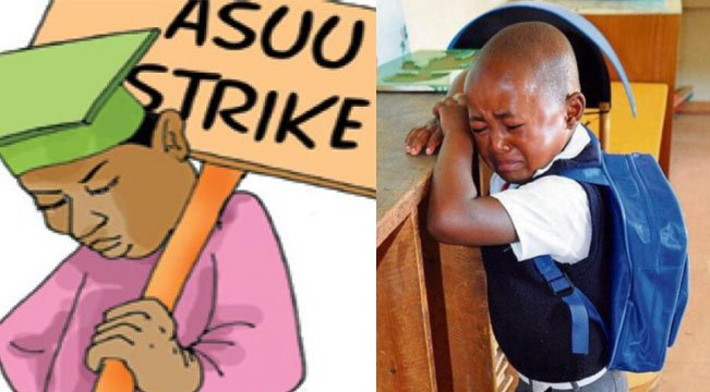 ASUU strike vs government affecting education in nigeria