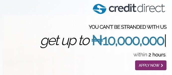 Credit direct personal loans in Nigeria