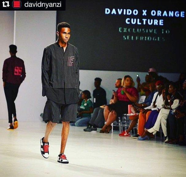 Davido clothing line  orange culture - davido net worth
