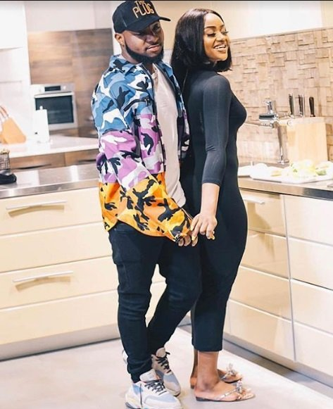 Image of davido and chioma