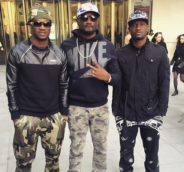 Image of psquare with their brother